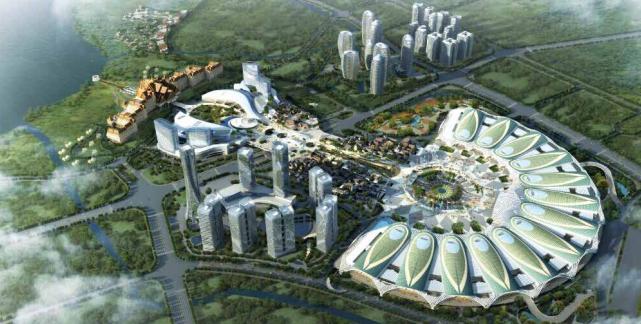 중국 쿤밍 디안치국제무역전시센터
