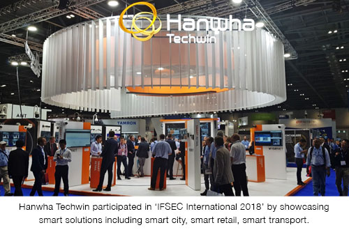 Hanwha-Techwin_IFSEC-International-2018